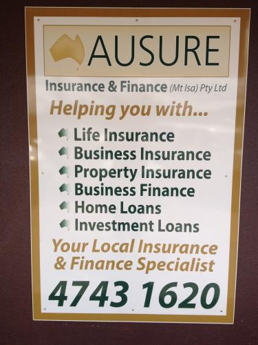 Ausure Insurance & Finance (Mt Isa) Pty Ltd