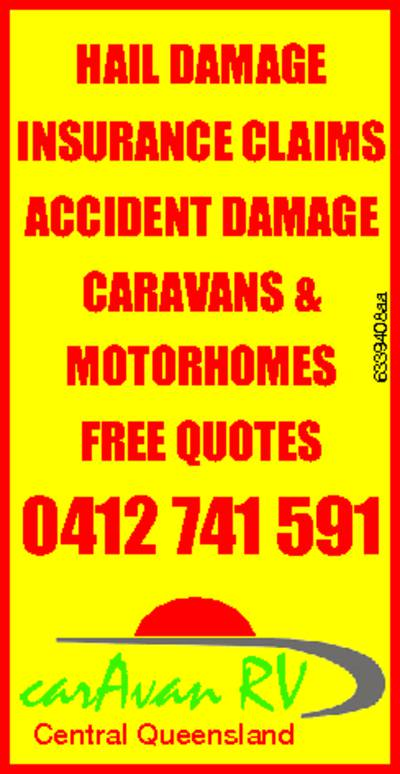 Caravan RV Central Queensland