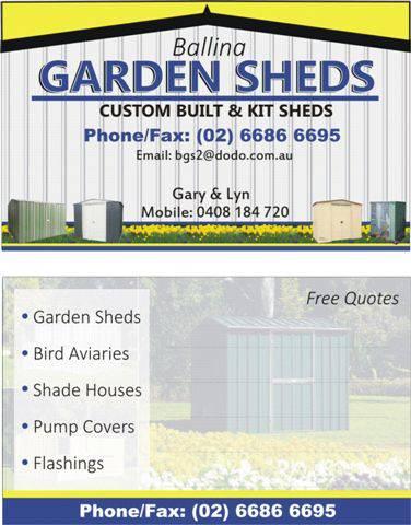 Ballina Garden Sheds