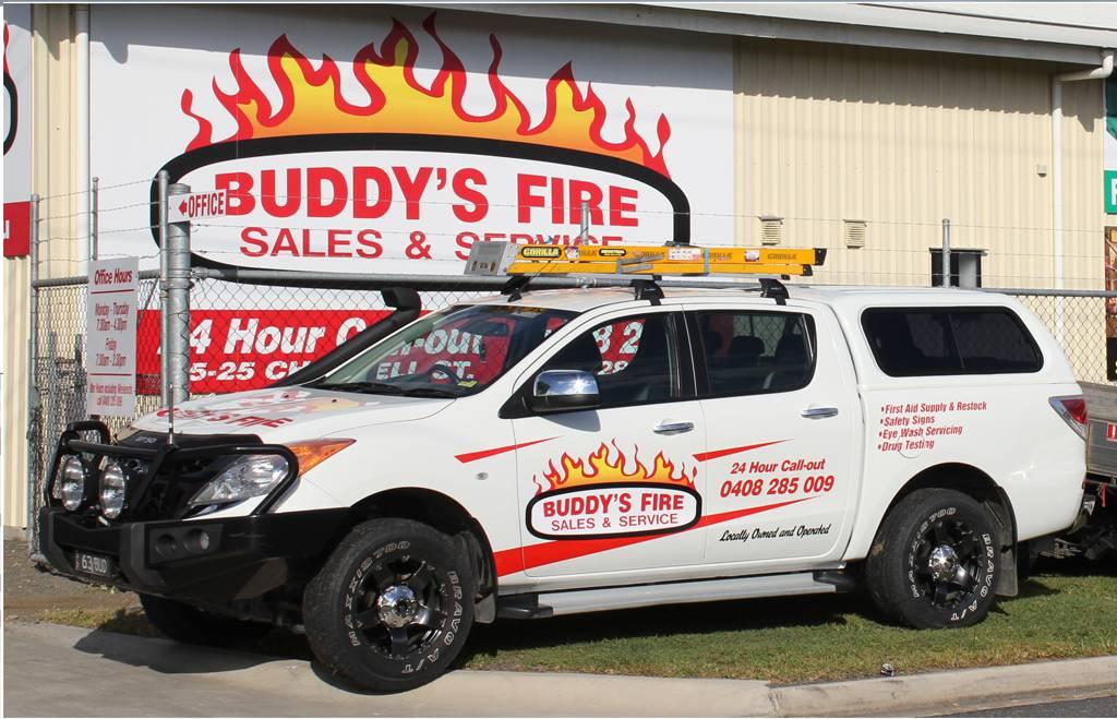 Buddy's Fire