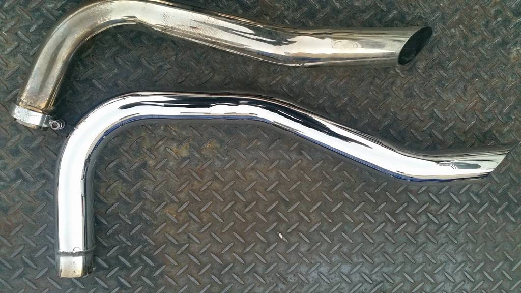 Shiney Side Up Metal Polishing