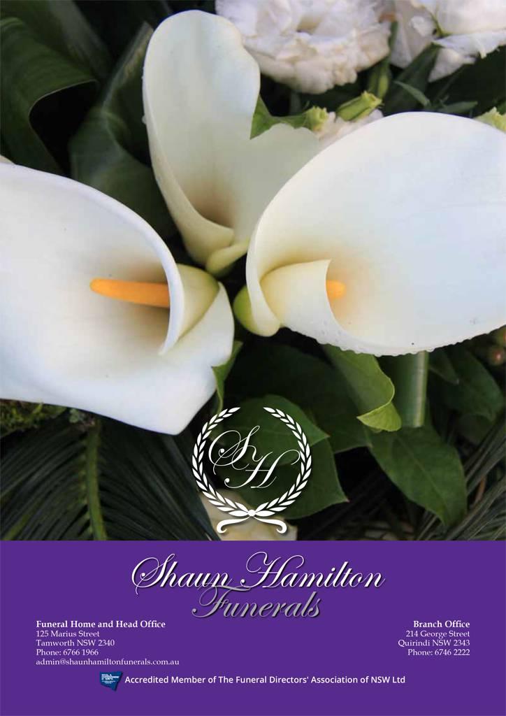 Shaun Hamilton Funerals