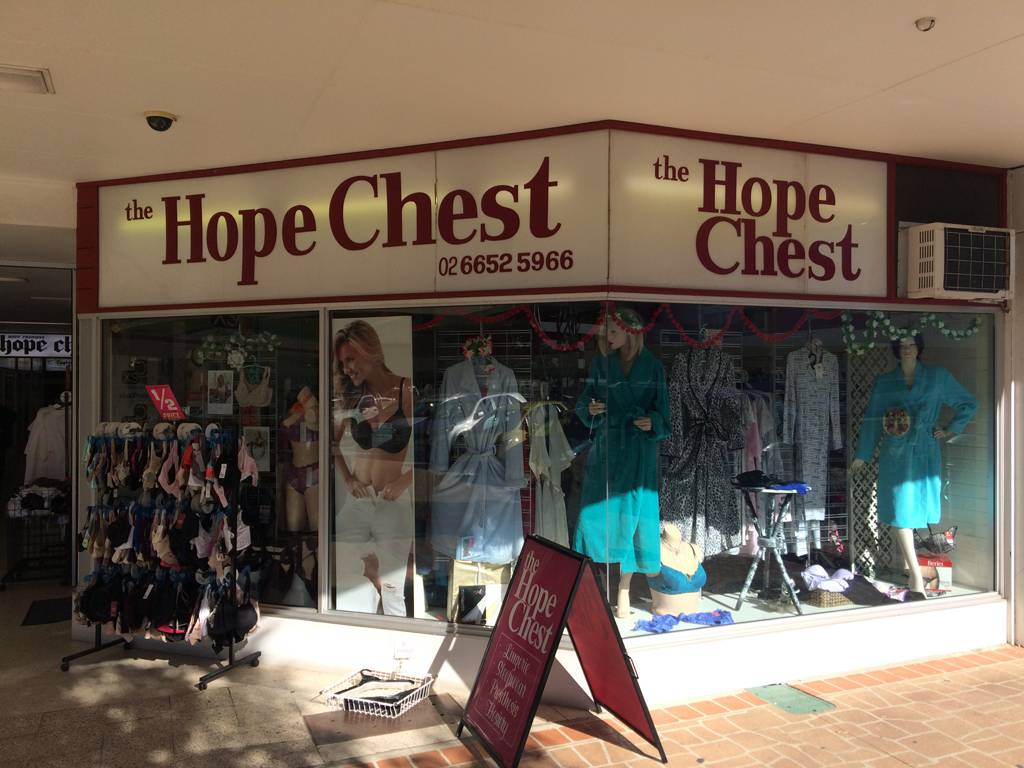 Coffs Harbour–The Hope Chest