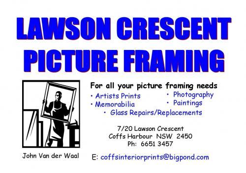 Coffs Picture Framing