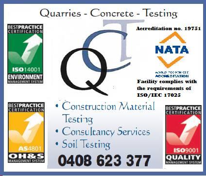 QC Testing–NATA Laboratory