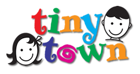 Tiny Town Day Care Logo and Images