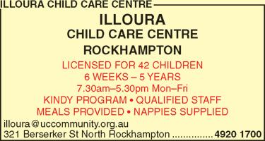 Illoura Child Care Centre