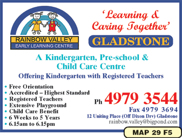 Rainbow Valley Early Learning Centre