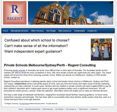Regent Consulting - Best Private Schools Sydney Perth Melbourne Consulting Services