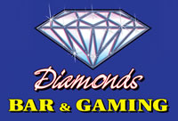Diamonds Bar and Gaming Logo and Images