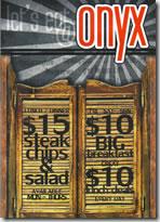 Onyx Restaurant, Tapas & Cocktail Bar