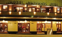 Hunters Hill Hotel Logo and Images