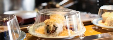 Sushi Train Indooroopilly Junction Logo and Images