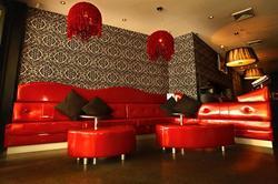 Satin Lounge Bar Logo and Images