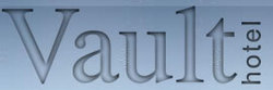 Vault Hotel Logo and Images