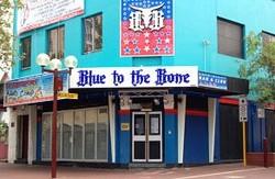 Blue to the Bone