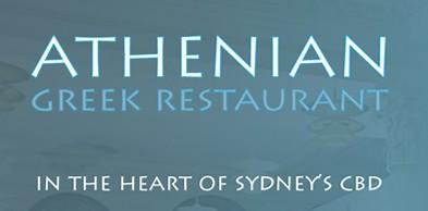 Athenian Greek Restaurant Logo and Images