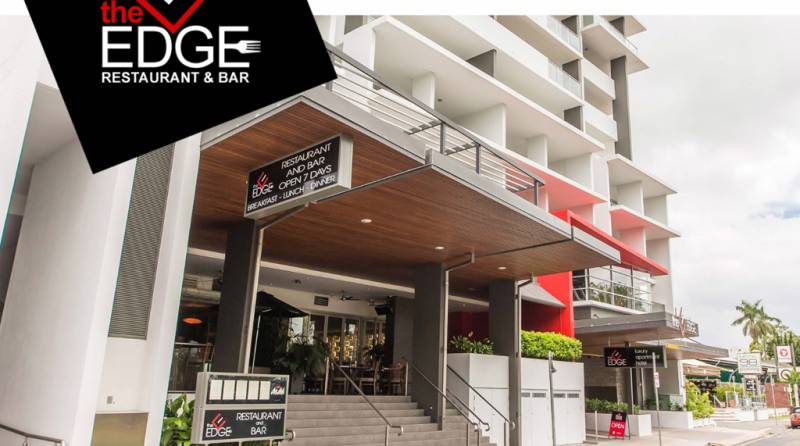 The Edge Restaurant & Bar Logo and Images