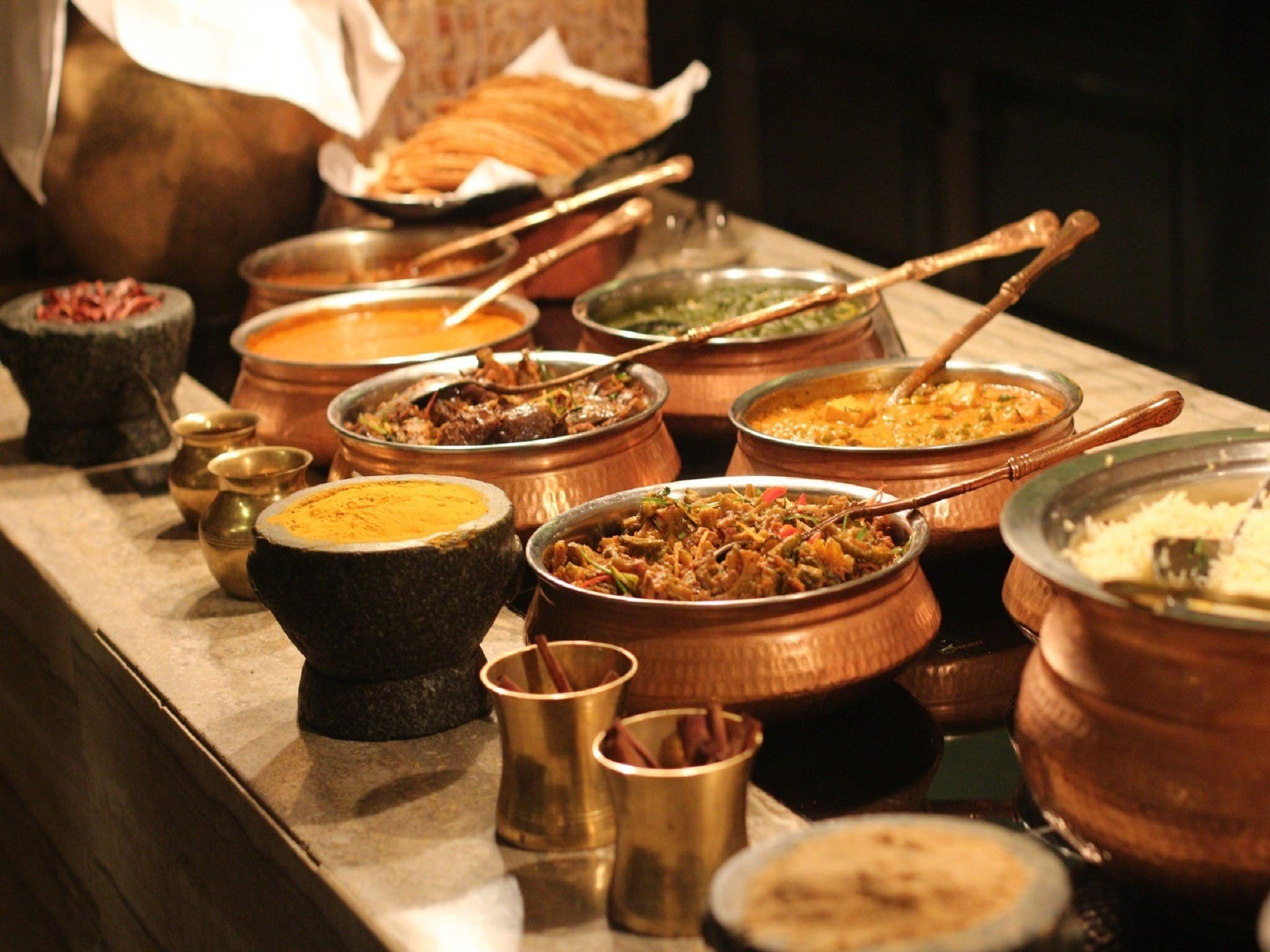 Indian and Sri Lankan cooking class Logo and Images