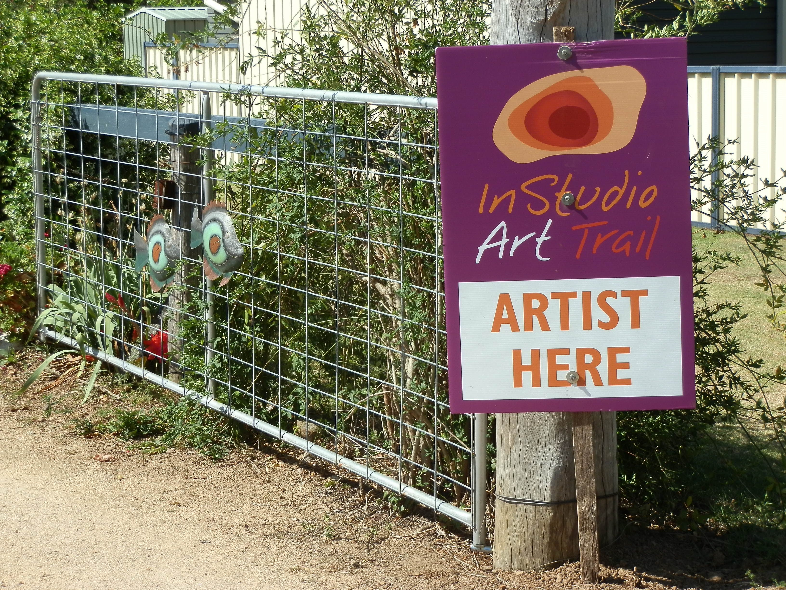 InStudio Art Trail Logo and Images