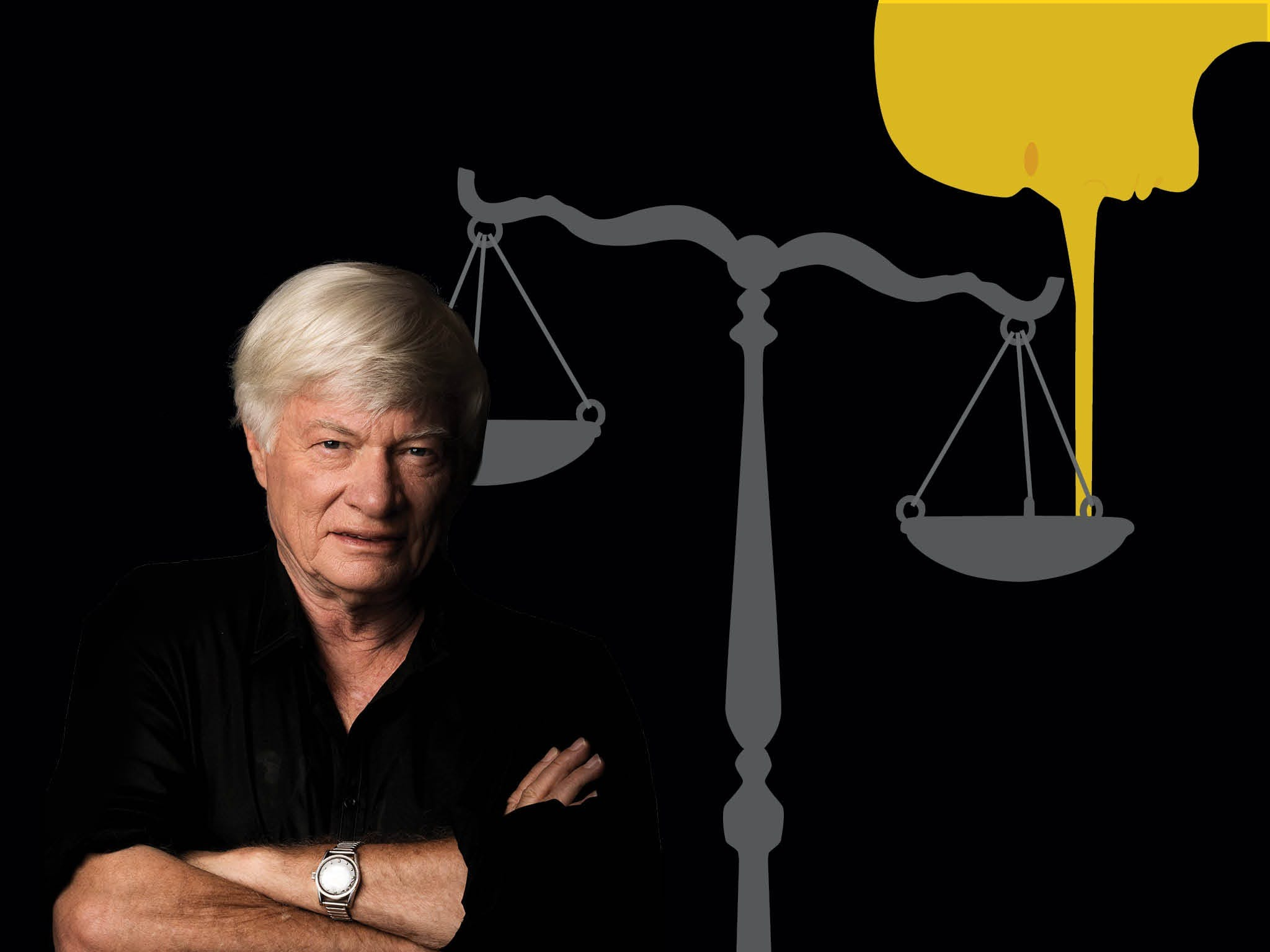 Geoffrey Robertson QC: Live on Stage - Brisbane Logo and Images