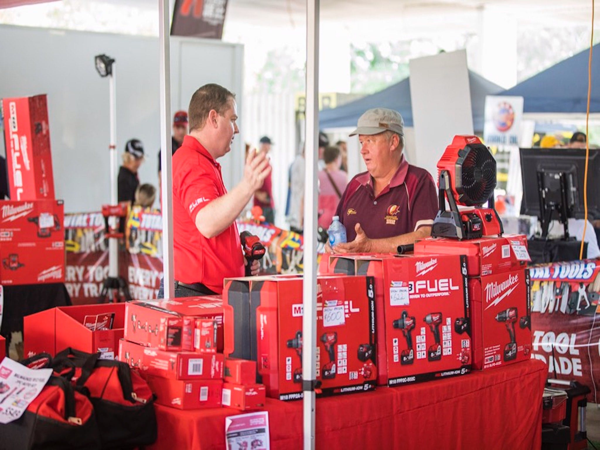 Mackay Weekend Warrior Expo by Big Boy Toys Logo and Images