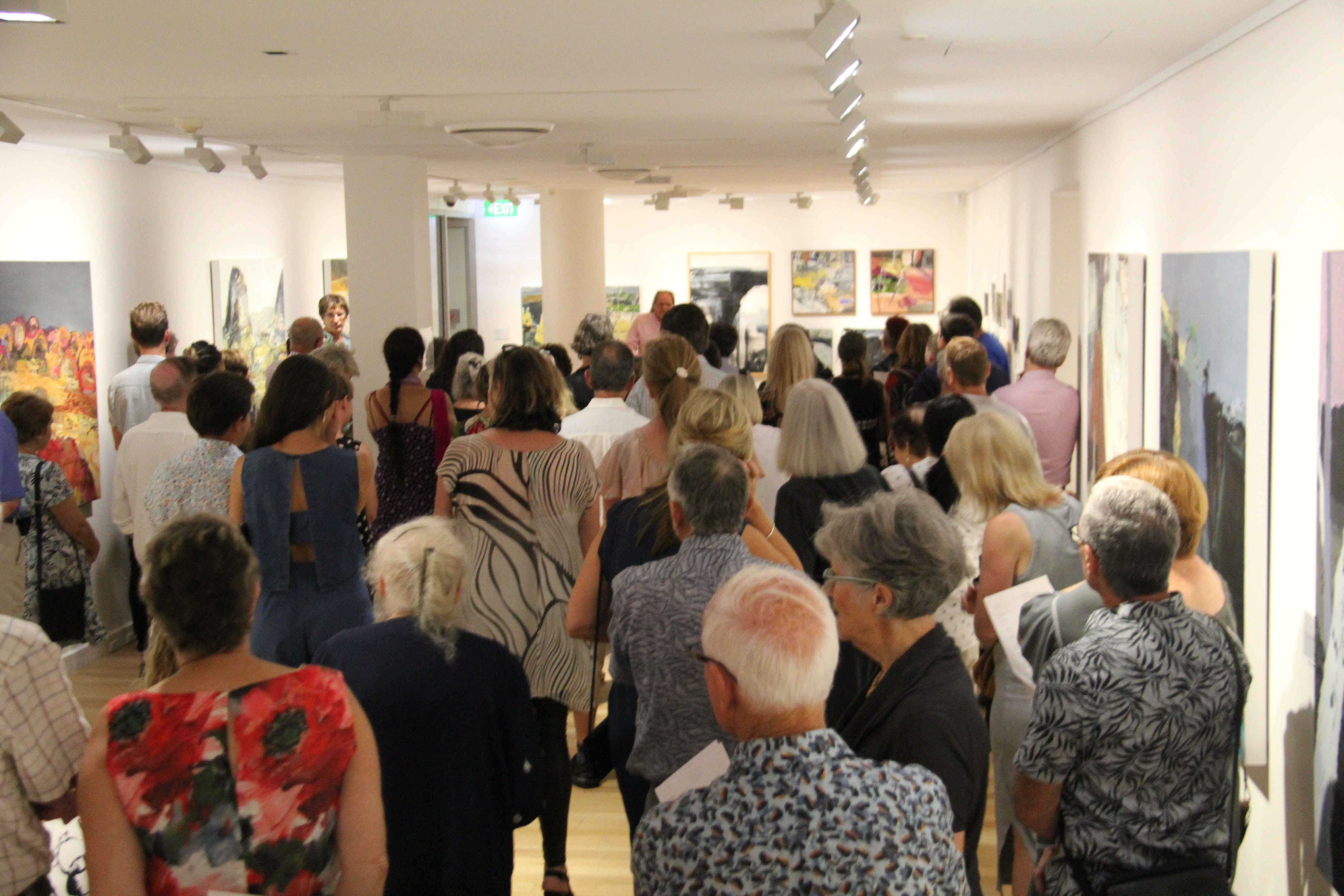 'Presence of Place: Catherine Parker' Exhibition Opening Logo and Images