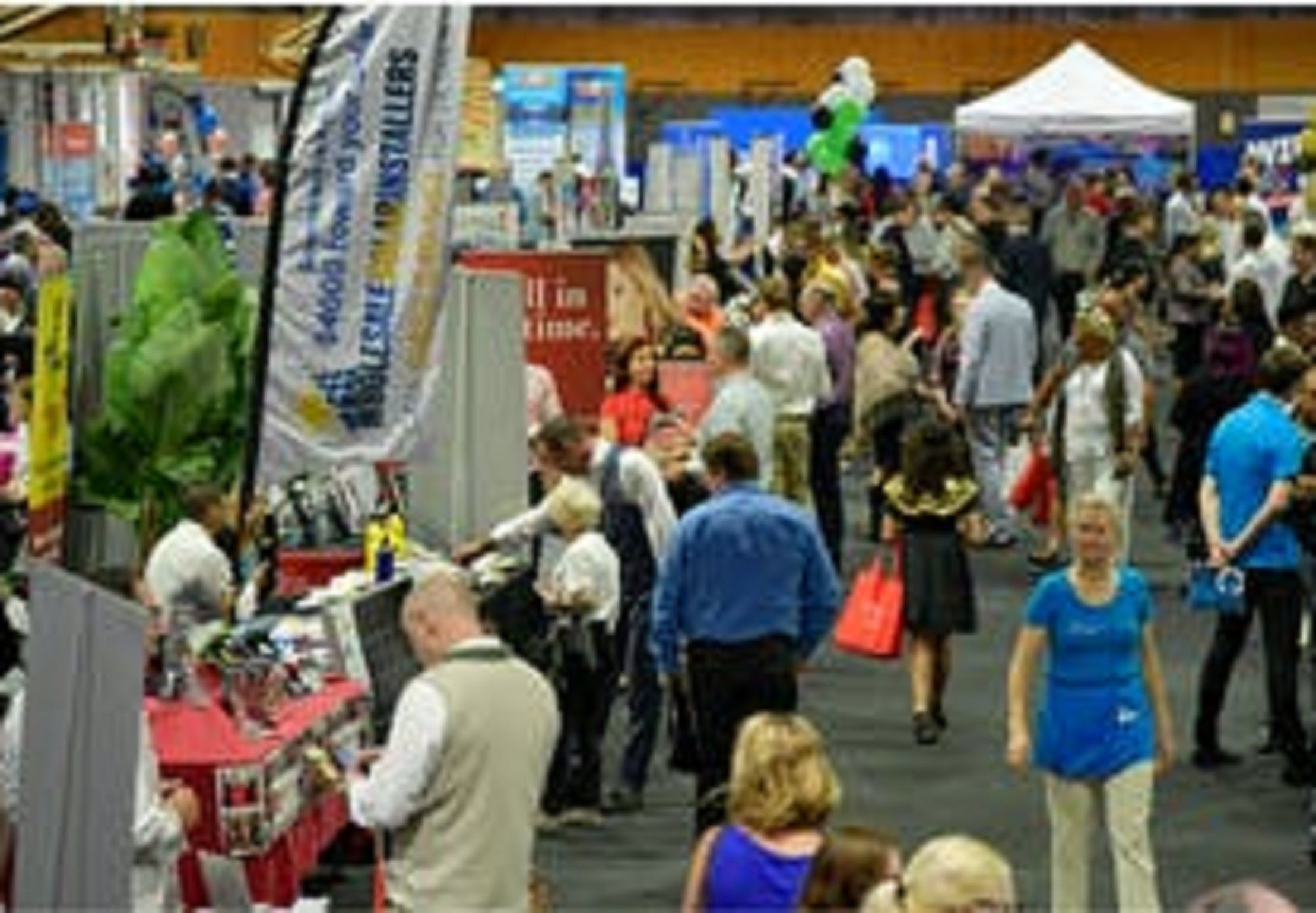 Redlands Coast Business and Jobs Expo Logo and Images