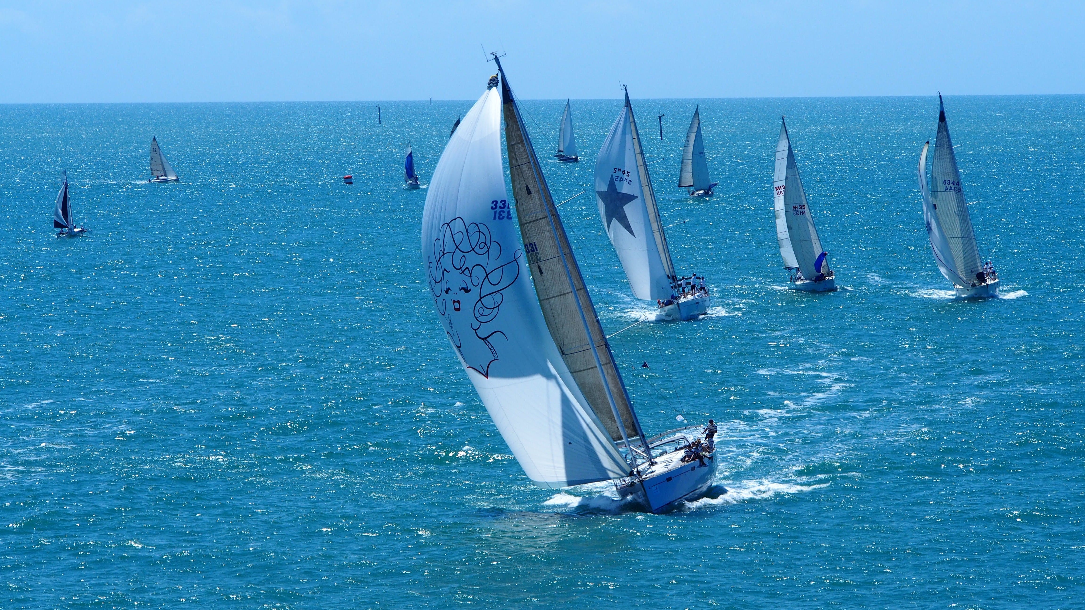 SeaLink Magnetic Island Race Week Logo and Images