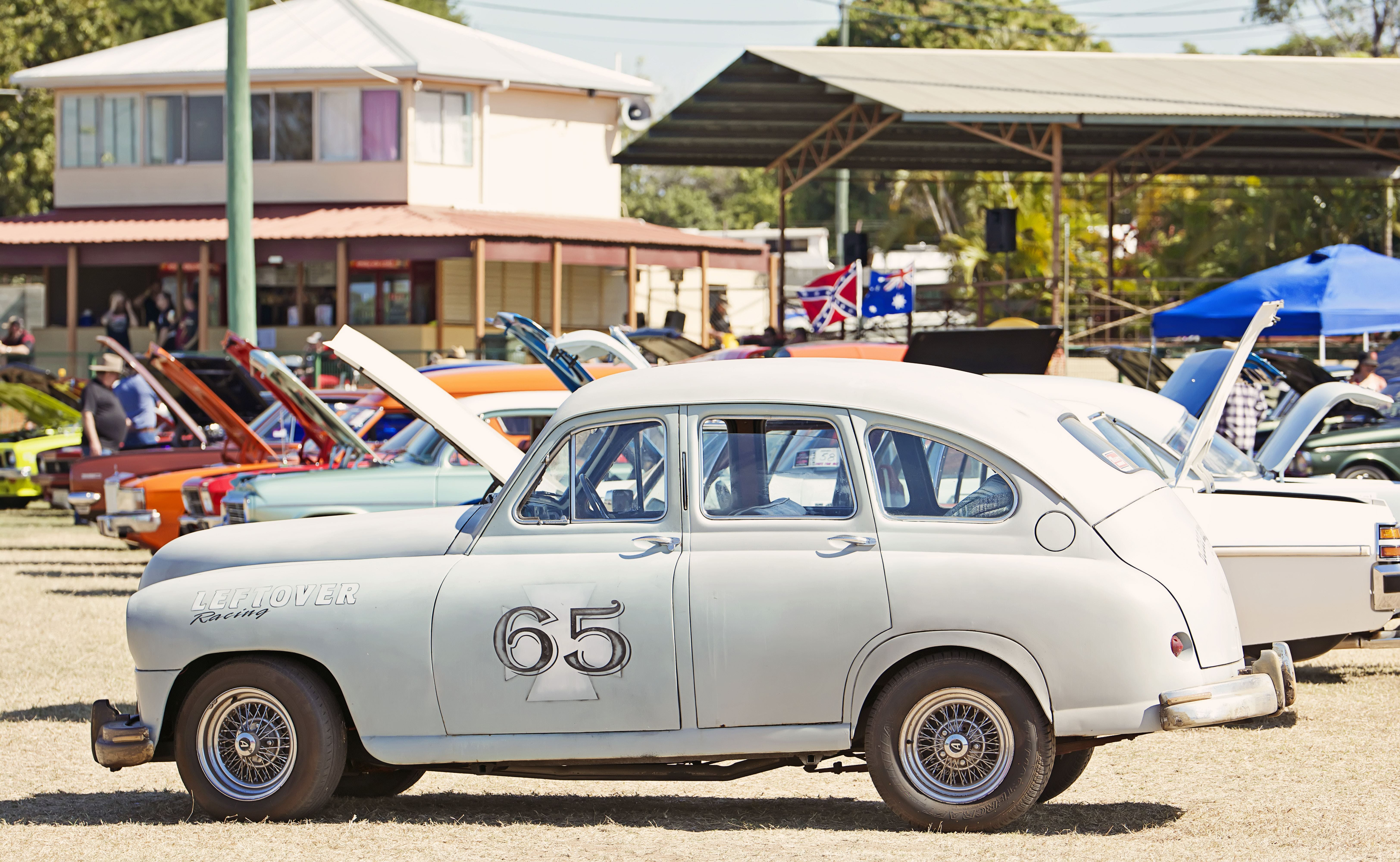 Charters Towers Motor Show and Swap Meet Logo and Images