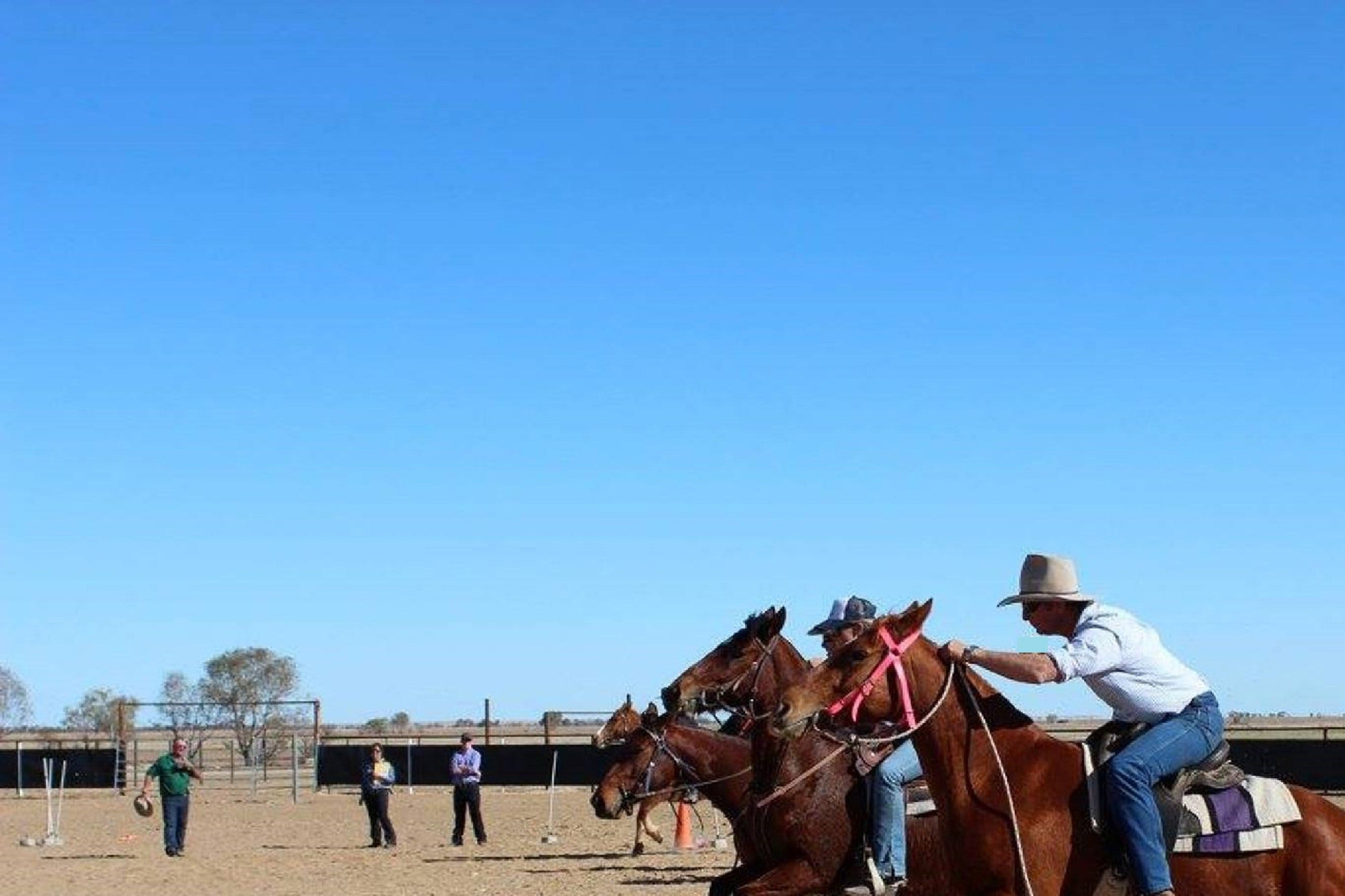 Birdsville Horse and Motorbike Gymkhana Logo and Images