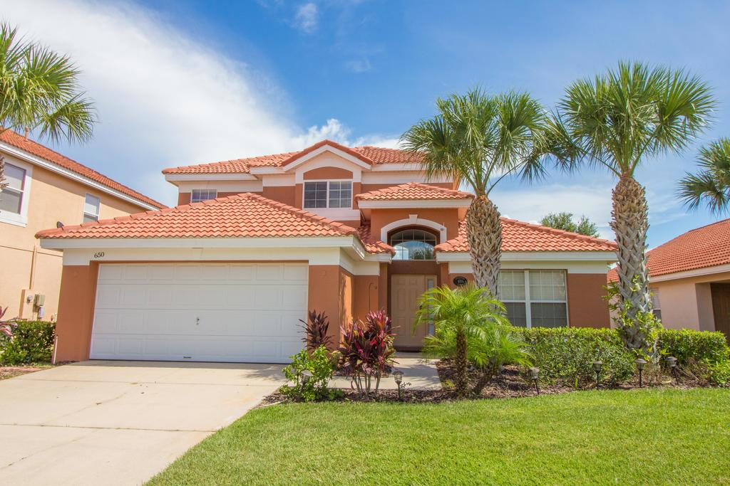 Enchanting Escape 5 Bedroom Home South Facing Private Pool  Spa Games Room WiFi Gated Resort Solana Florida