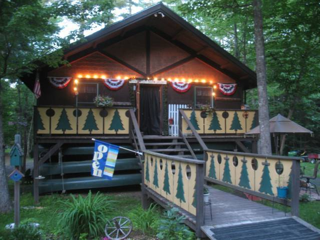 Lumberjack Lodges