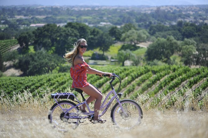 Electric Bike Adventure in Santa Barbara Wine Country Los Olivos - Solvang