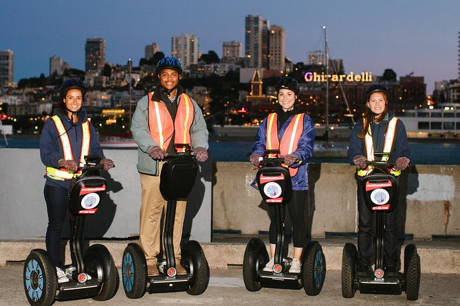 San Francisco Combo Alcatraz and Sunset Segway Tour