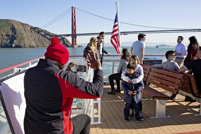 Straight to the Gate Access San Francisco Bridge-to-Bridge Cruise