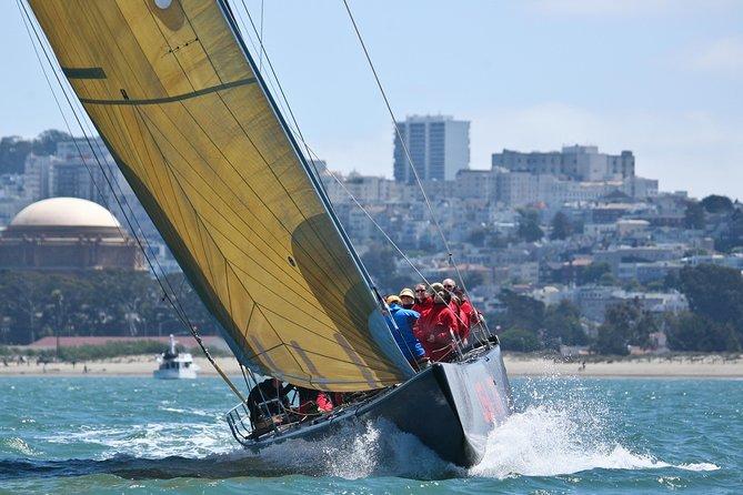 America's Cup Sailing Adventure on San Francisco Bay Express Sail