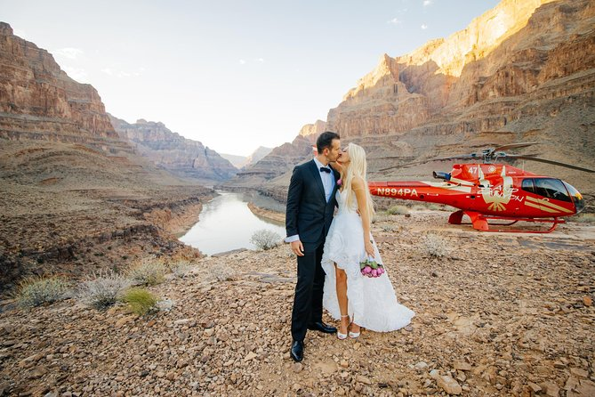 Helicopter Wedding Ceremony The Grand Canyon