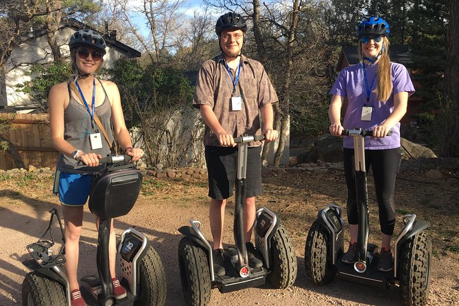 1 Hour Segway Tour - Cheyenne Cañon Art, History and Nature