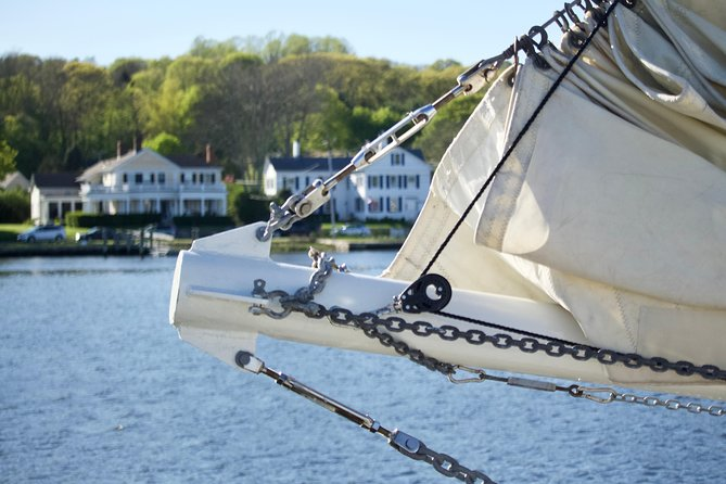 Guided walking tour of historic Mystic, Connecticut.