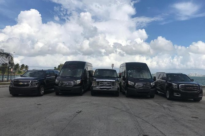 Private Transportation From Port of Miami