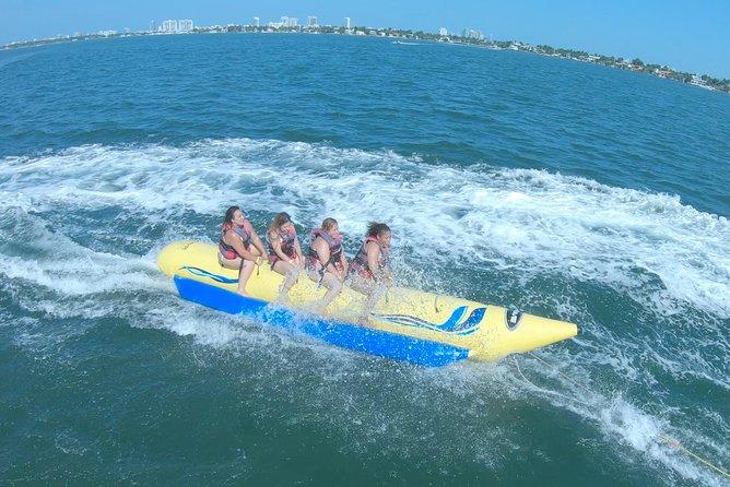 Banana Boat Ride in Biscayne Bay