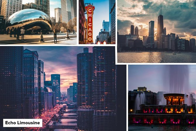 3 Hours Chicago Sightseeing Tour - Luxury Private Sedan