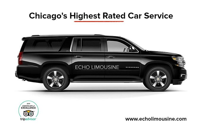 O'Hare Airport (Curbside) To Chicago, Luxury Private SUV, All Inclusive