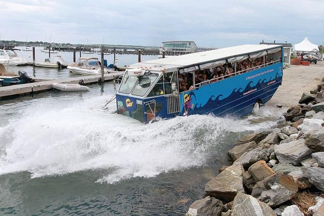 Land and Sea Duck Tour Historic Adventure