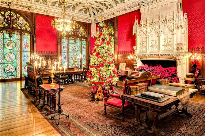 Christmas in Newport Day-Trip from Boston with Breakers  Marble House Admission