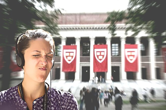 HARVARD Campus Self-Guided Walking Audio Tour for iPhone & Android