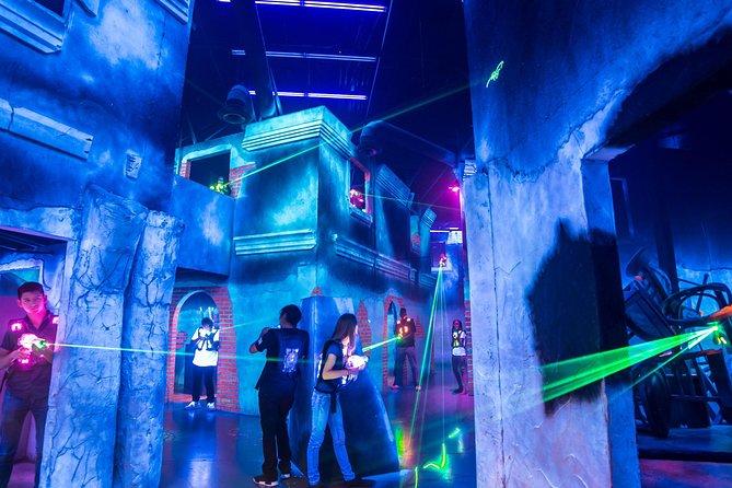 4-Game Laser Tag Pass at battleBLAST in Las Vegas