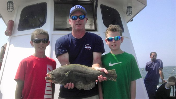 Half-Day Fishing Trip from Cape May