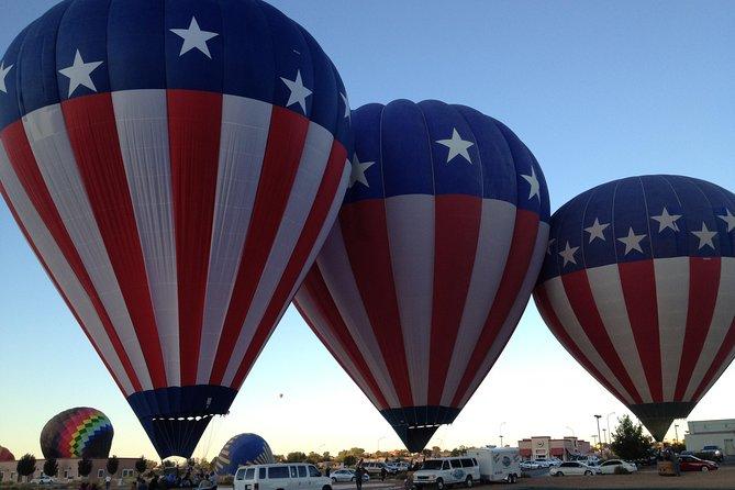 Albuquerque Sunrise Hot Air Balloon Flight